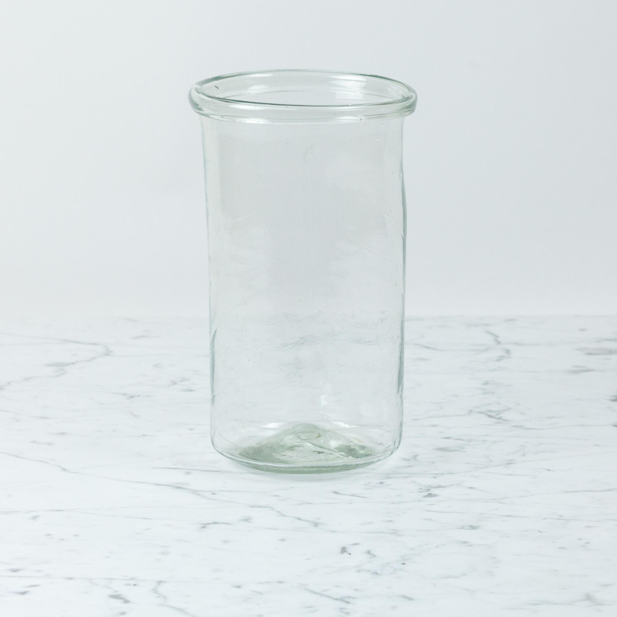 La Soufflerie Hand Blown Pot A Cornichon Glass Jar - Large