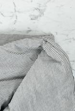 "Cats and Boys Linen Playmat - Grey Stripe - 48"""