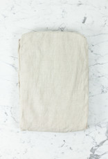 Linen Fitted Sheet - Queen - Natural