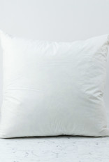 Down + Feather Pillow Insert ONLY - 24 x 24""