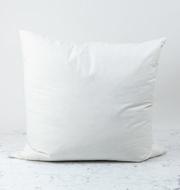 Down + Feather Pillow Insert ONLY - 25 x 25""
