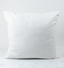 Down + Feather Pillow Insert ONLY - 26 x 26""