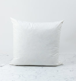 Down + Feather Pillow Insert ONLY - 20 x 20""