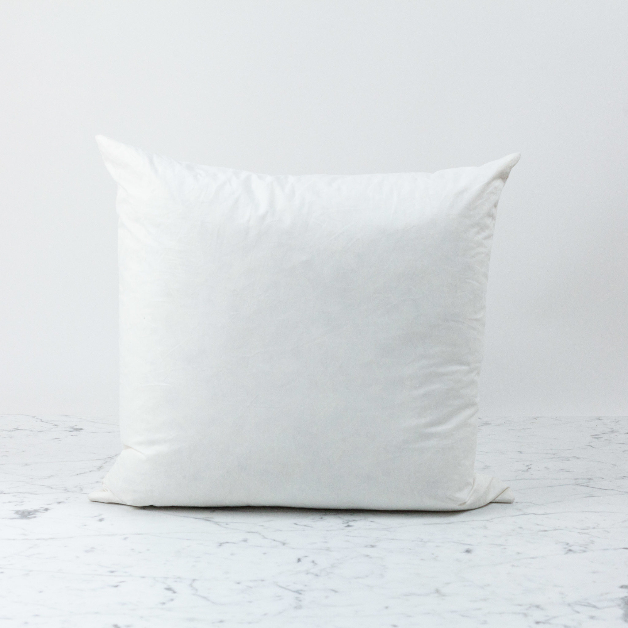 Down Feather Pillow Insert Only 20