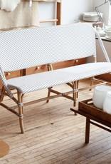 Sika-Design Sofie Rattan Bench - White