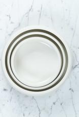 "John Julian John Julian Hand Thrown Porcelain Nesting Bowl - Small - 6 1/2"""