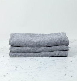 Thick Chambray Towel Grey