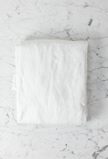Complete Linen SHEET Set- California King - White - Flat, Fitted, 2 Pillowcases