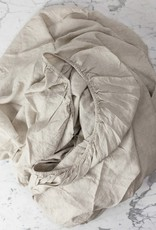 Complete Linen BEDDING Set  - King - Natural - Flat, Fitted, 4 Pillowcases, Duvet Cover