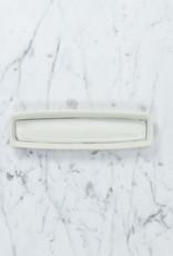 """Nicole Aquillano Nicole Aquillano Porcelain Simple Line Rectangular Trinket Dish - Medium - 7 x 1.5"""""""