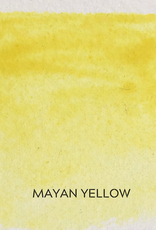 Beam Paints Natural Pigment Handmade Watercolor Paintstones - Mayan Yellow - Individually Wrapped
