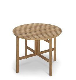 Skagerak Selandia Table - Teak - Round Folding Top