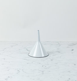 Enamel Funnel - White - 5""