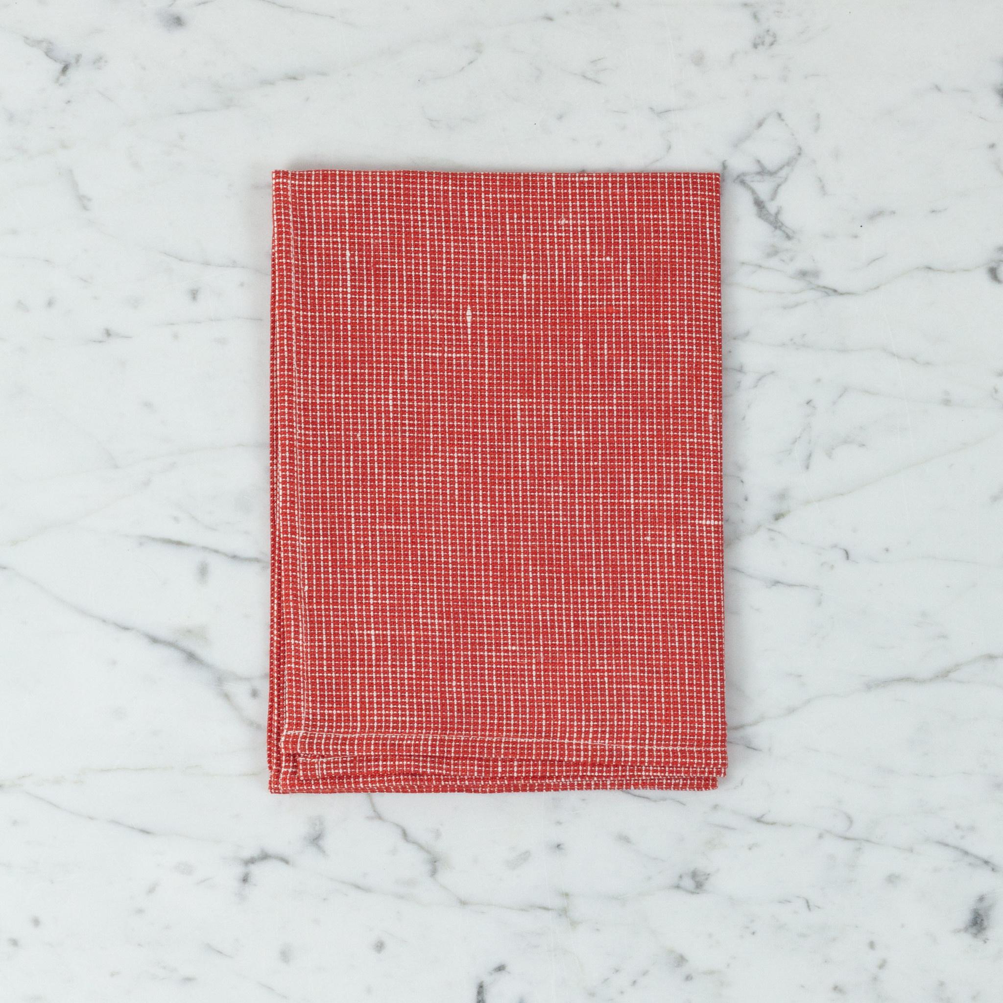 Linen Kitchen Cloth - Nerissa Orange