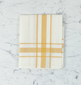 "Libeco Home Belgian Linen Tea Towel - Camaret Gold - 27"""