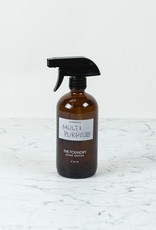 The Foundry Home Goods The Foundry Amber Glass Bottle 16oz + All Purpose Spray - Mint + Eucalyptus