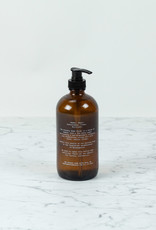The Foundry Home Goods The Foundry Amber Glass Bottle 16oz + Hand Soap - Lavender