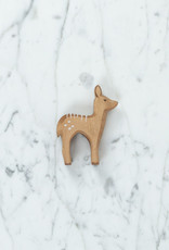 Ostheimer Toys Red Deer Fawn Stand