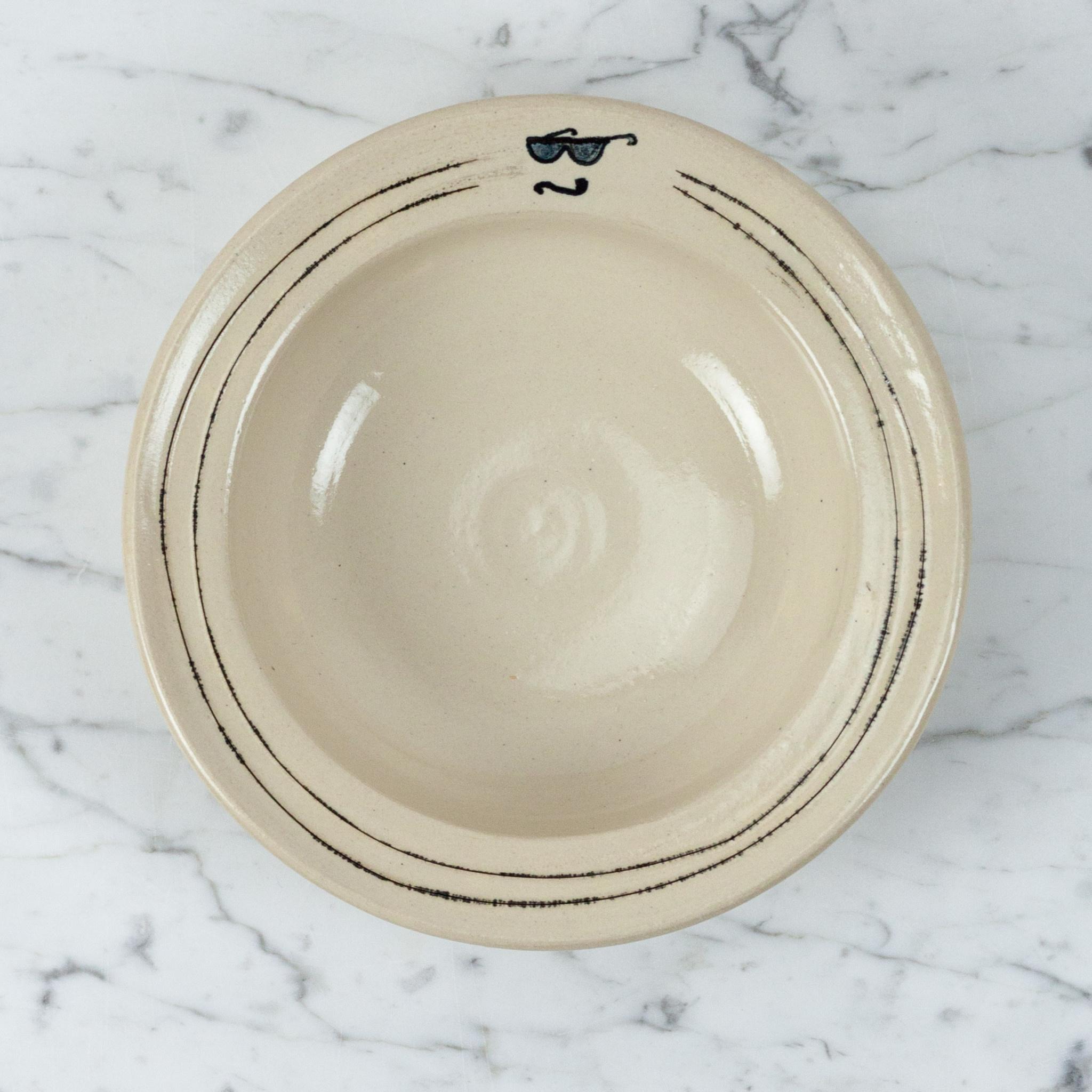 Ginny Sims Ginny Sims Ceramic Pretty Pasta Bowl