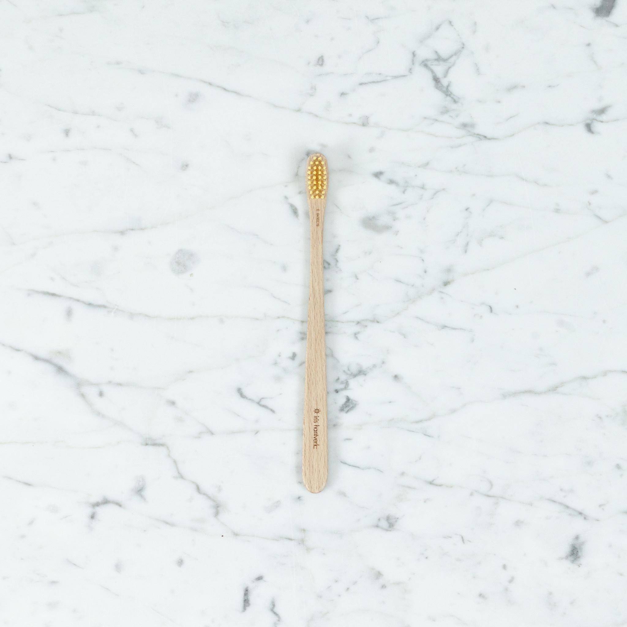 Iris Hantverk Swedish Beech Wooden Toothbrush
