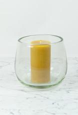 """Henry Dean Small Clovis Vessel - Clear Glass - 6 1/2"""""""