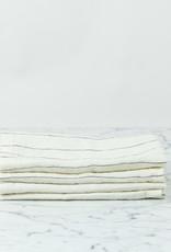 Linen Napkins - Set of 4 - Pencil Stripe