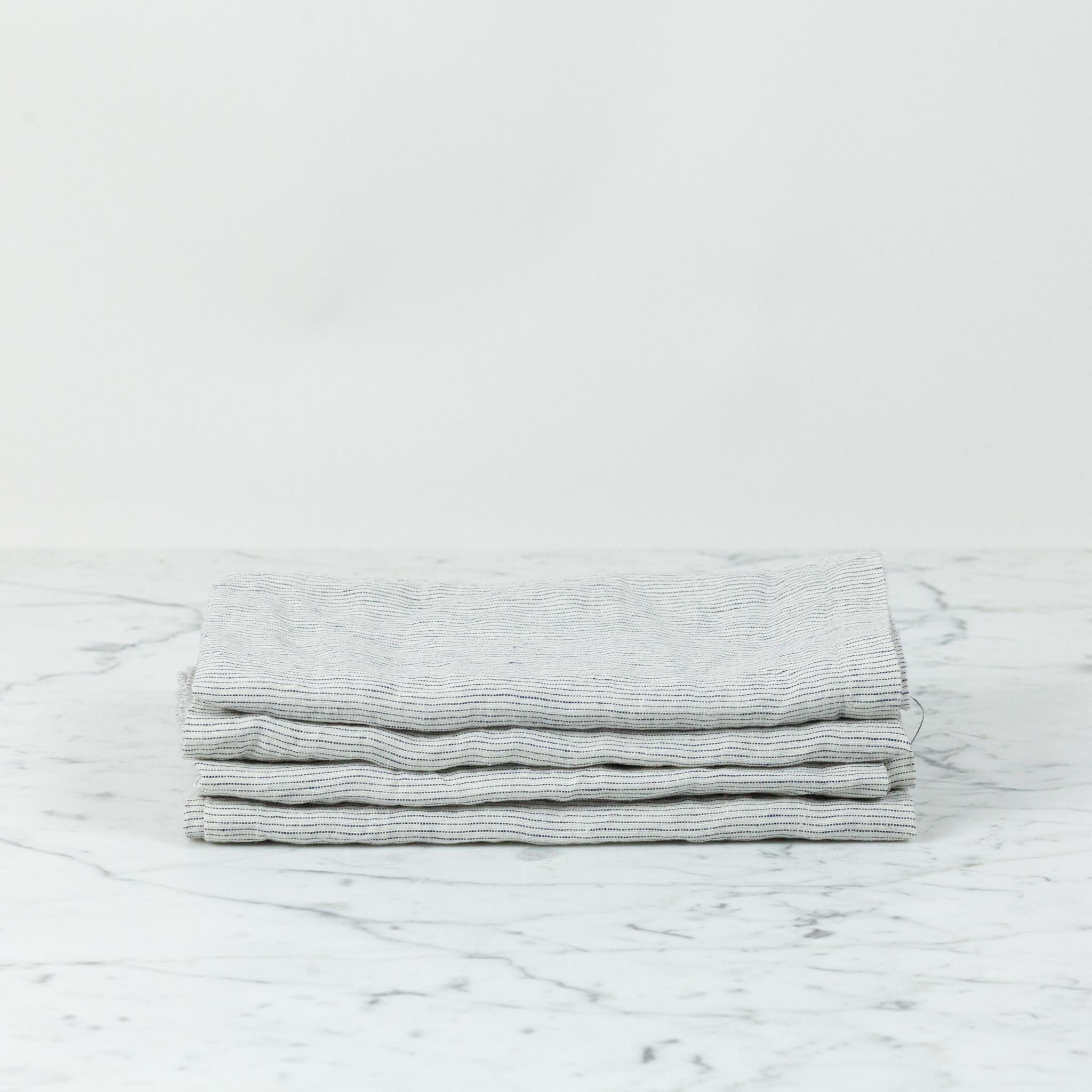 Linen Napkins - Set of 4 - Pinstripe