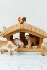 Ostheimer Toys Natural Large Stable Manger