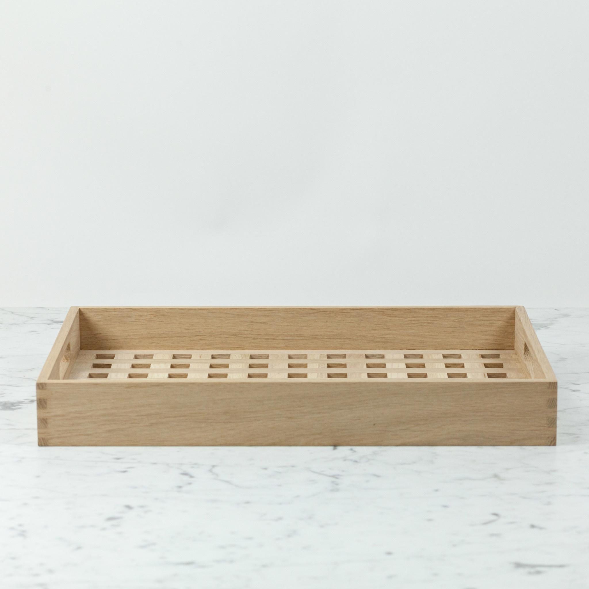 "Skagerak Danish Fiona Tray - Oak - Medium - 19 x 12.5"""