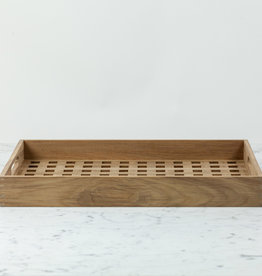 "Skagerak Danish Fiona Tray - Teak - 20 x 14"""