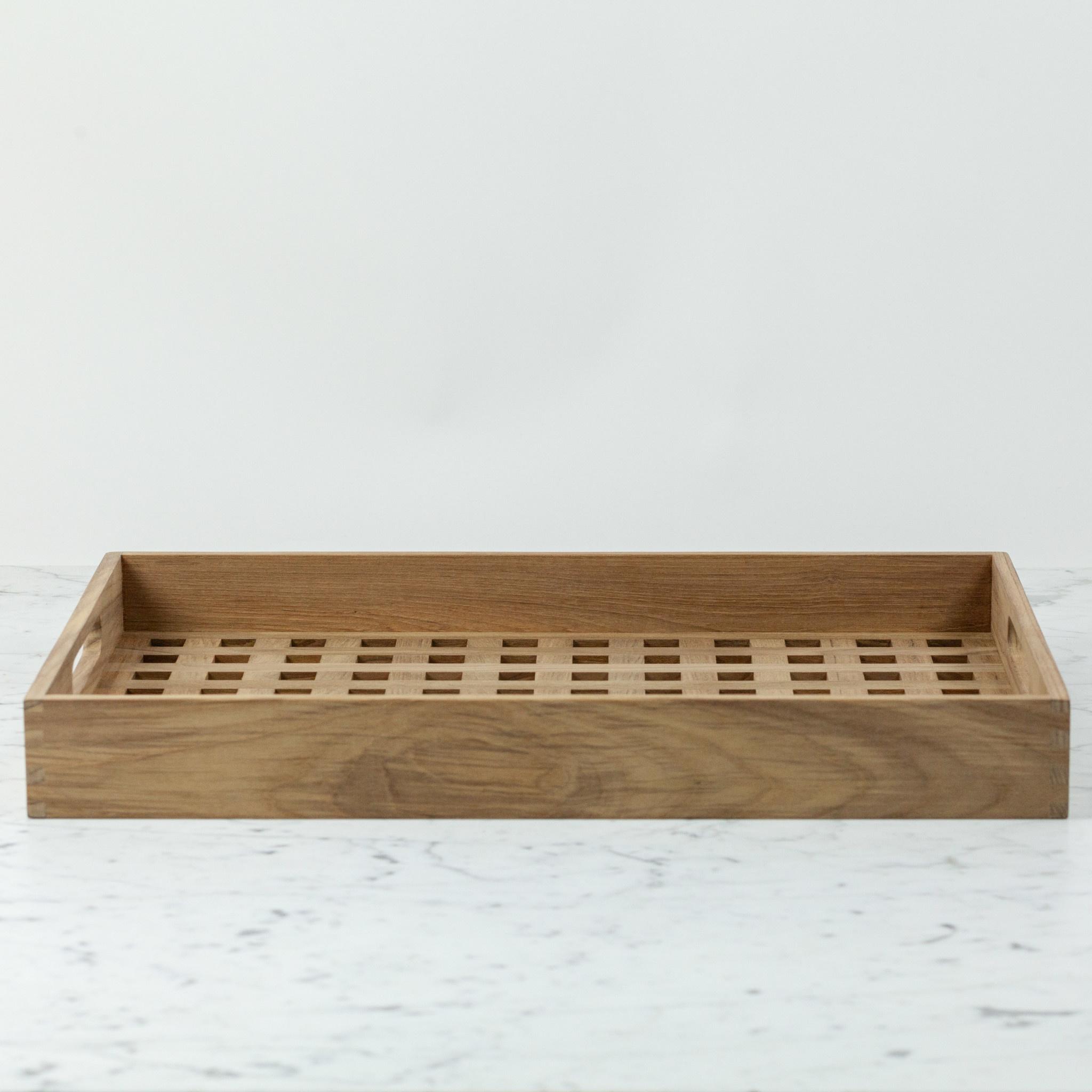 "Skagerak Danish Fiona Tray - Teak - Large - 20 x 14"""