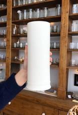 "John Julian John Julian Hand Thrown Vase - Large - Half Glaze - 10"""