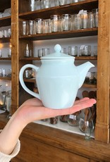 MIZU MIZU mizu-mizu Little Porcelain Tea Pot - Bluish White