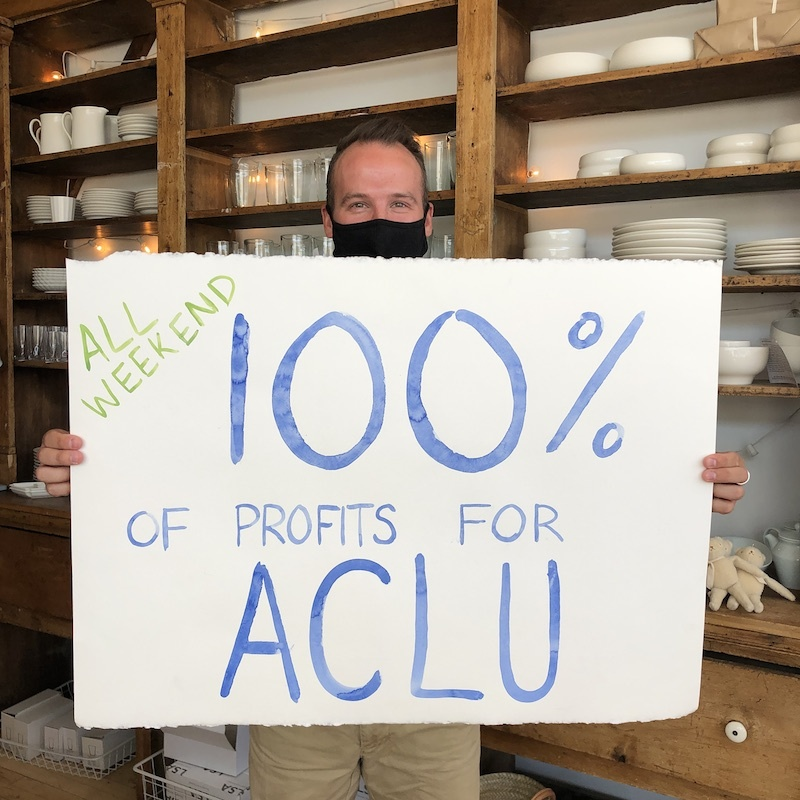 June ACLU Donation