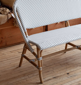 Sika-Design FLOOR SAMPLE - Sofie Rattan Bench - White