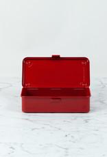 "300841 Japanese Steel Tool Box - Red - 8"""
