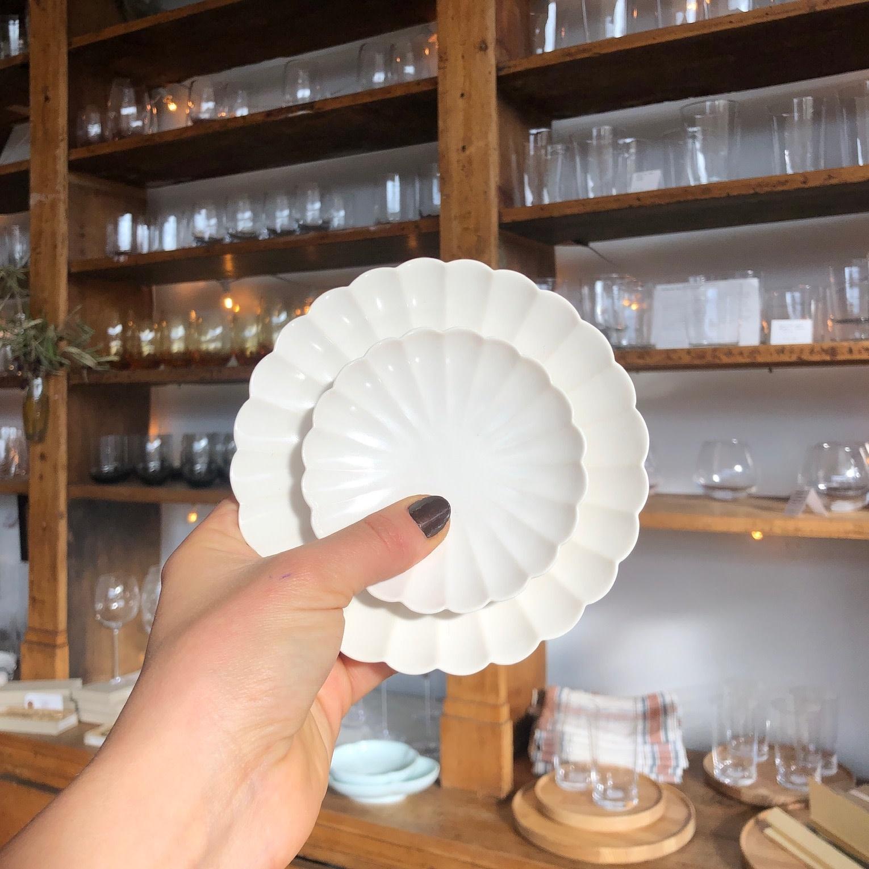 """PREORDER Jicon Chrysanthemum Plate - Small - 5.5"""""""