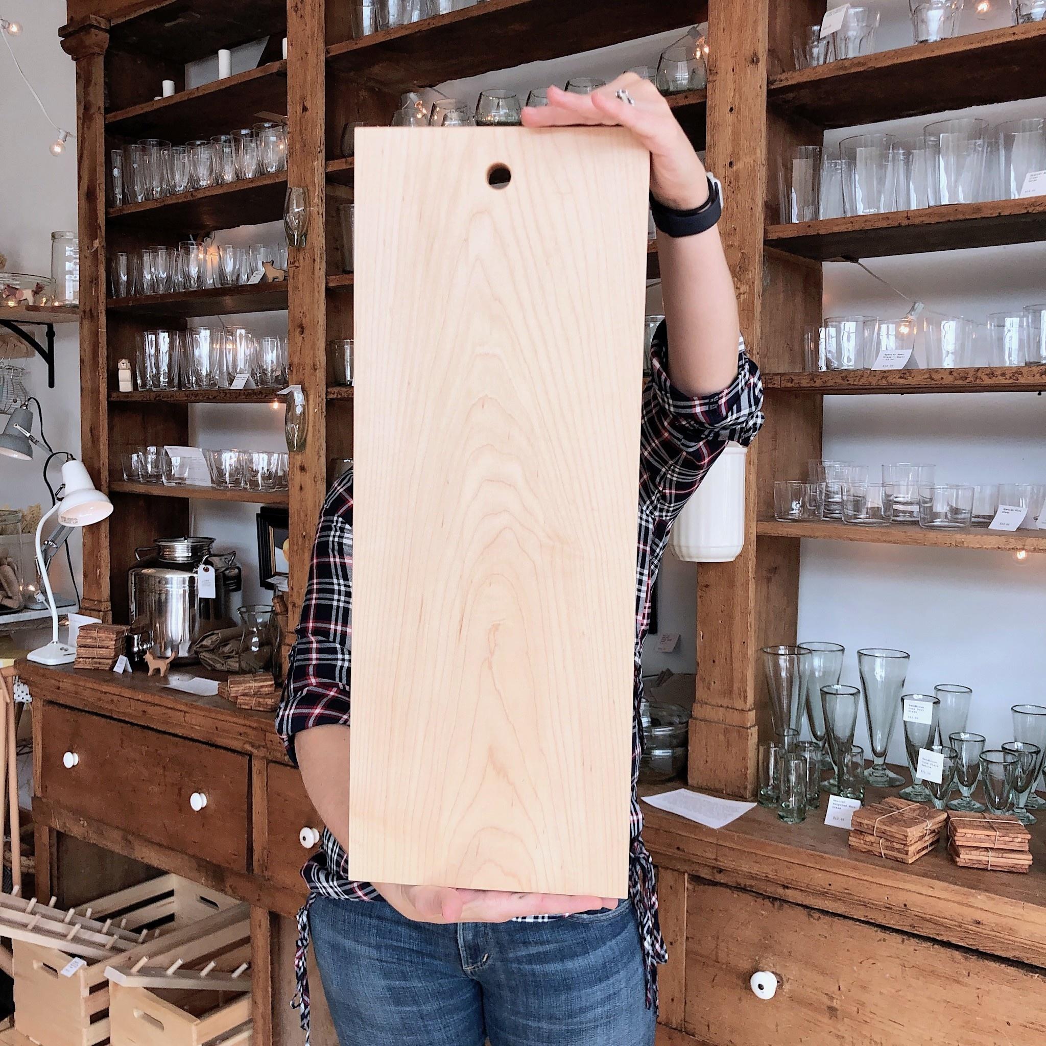"Mara Metz Mara Metz Giant Charcuterie Board - 9"" x 24"""
