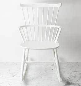 FDB Mobler FLOOR SAMPLE - FDB Mobler Rocking Chair - White Beech