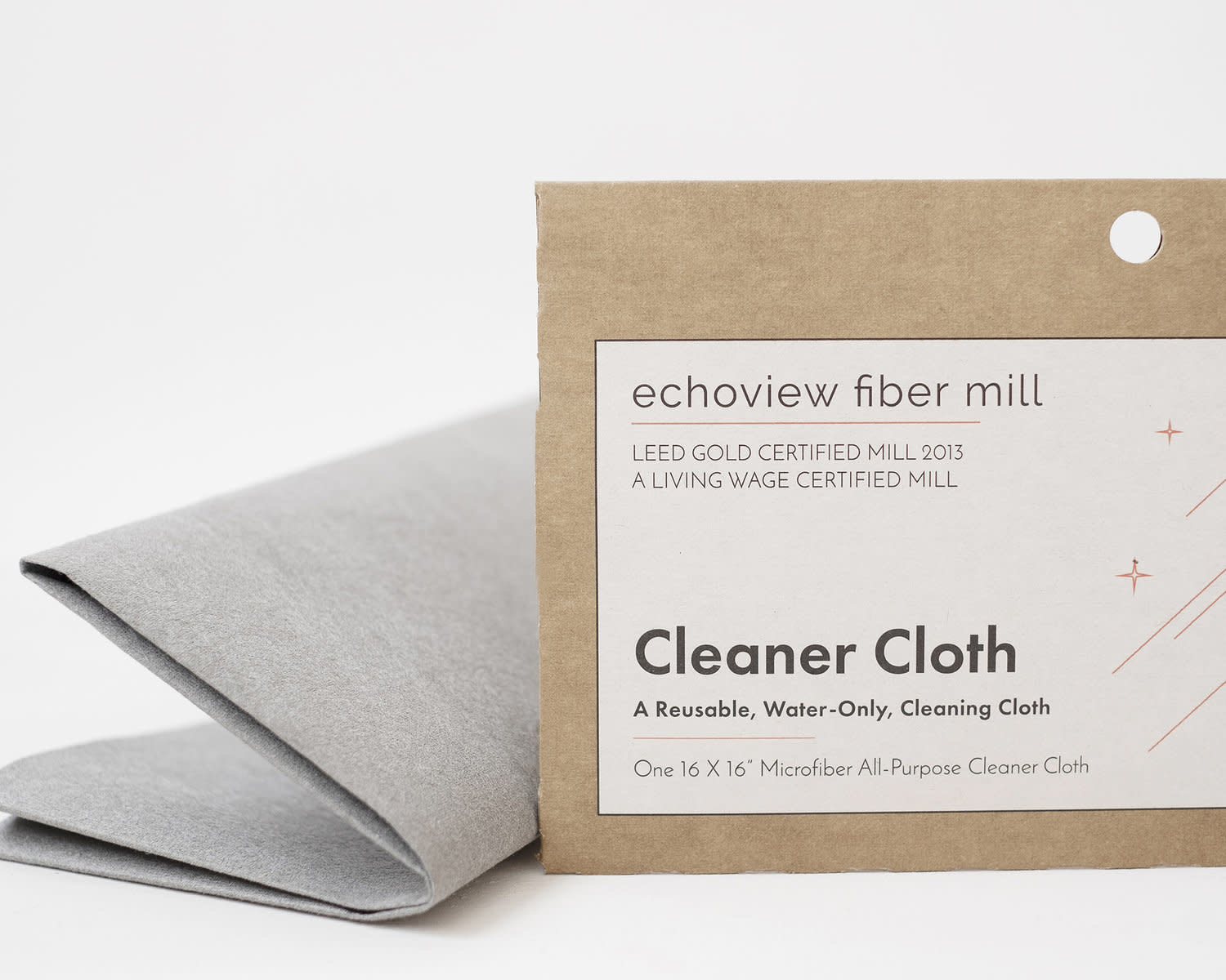 Echoview Fiber Mill Water Only Cleaner Cloth - Small