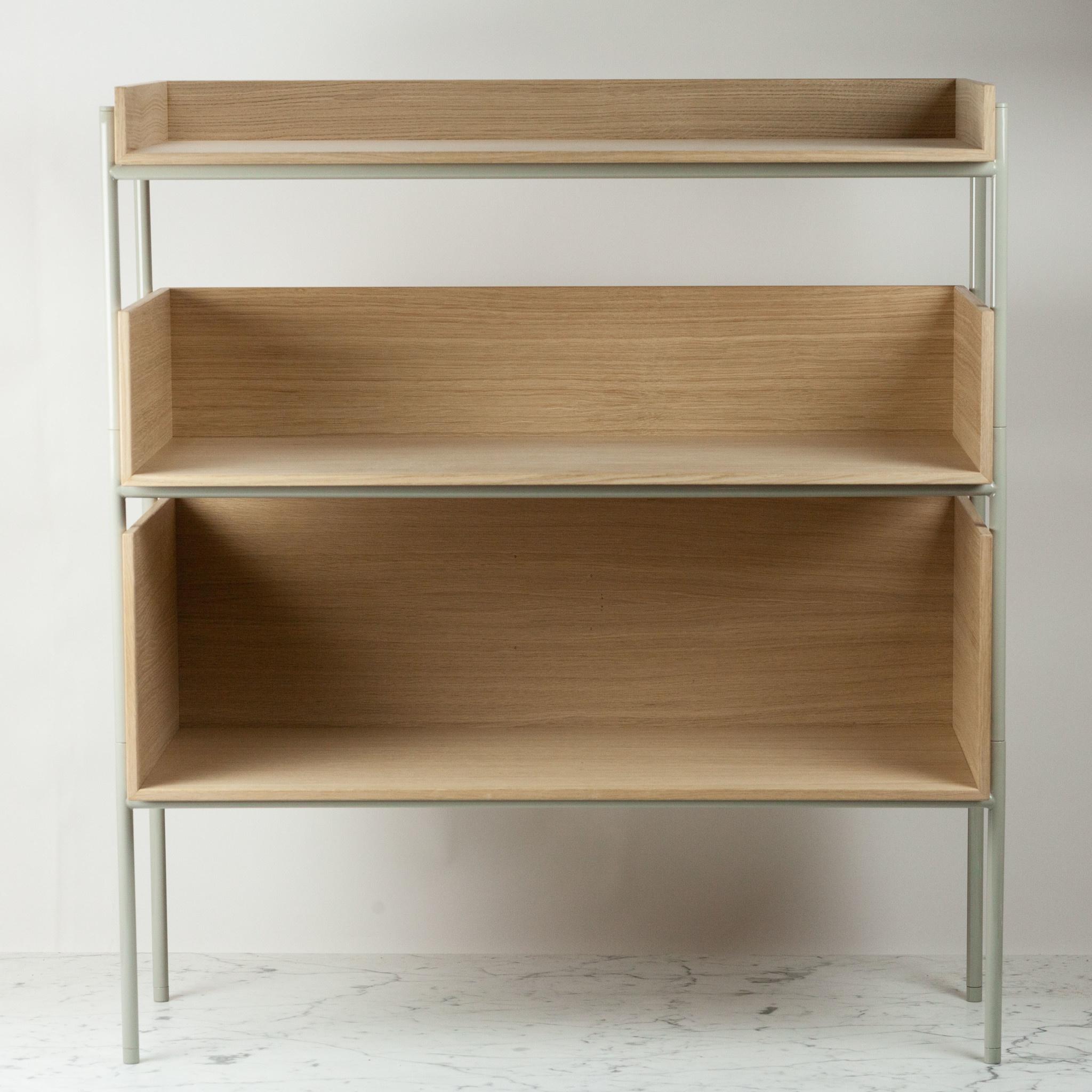 Skagerak Vivlio Stacking Shelf Frame - Silk Grey Steel
