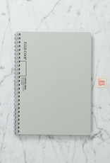 FOB Spiral Notebook - B5 - Cross Grid