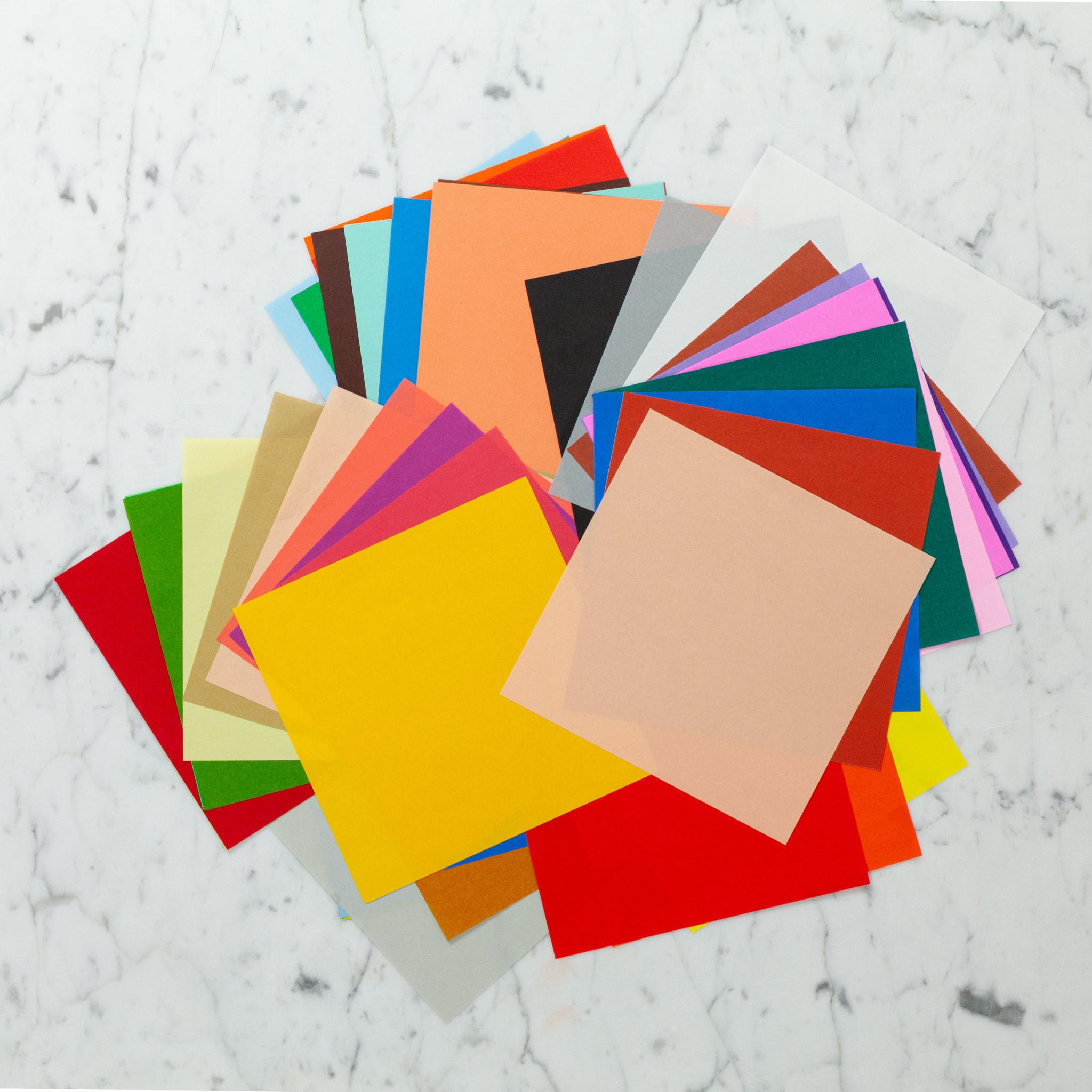 "Origami Paper - Multicolor - 60 Sheets - 6"""