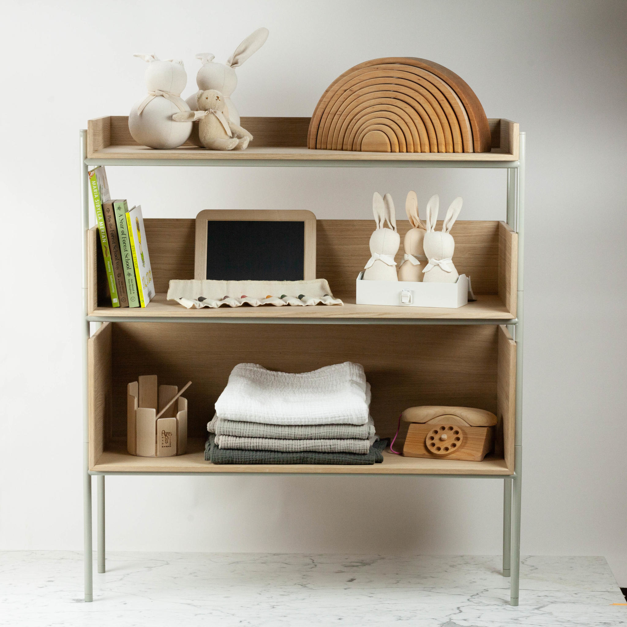 Skagerak Vivlio Stacking Shelf - Large - Ash
