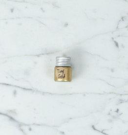 Beam Paints Natural Pigment Handmade Watercolor Paint - Zhoonia'aande Gold - Glass Jar