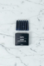 Ohto Dude Fountain Pen Refill - Blue (6 pc.)