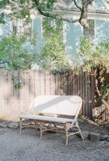 Sika-Design FLOOR SAMPLE - Sofie Rattan Bench - White