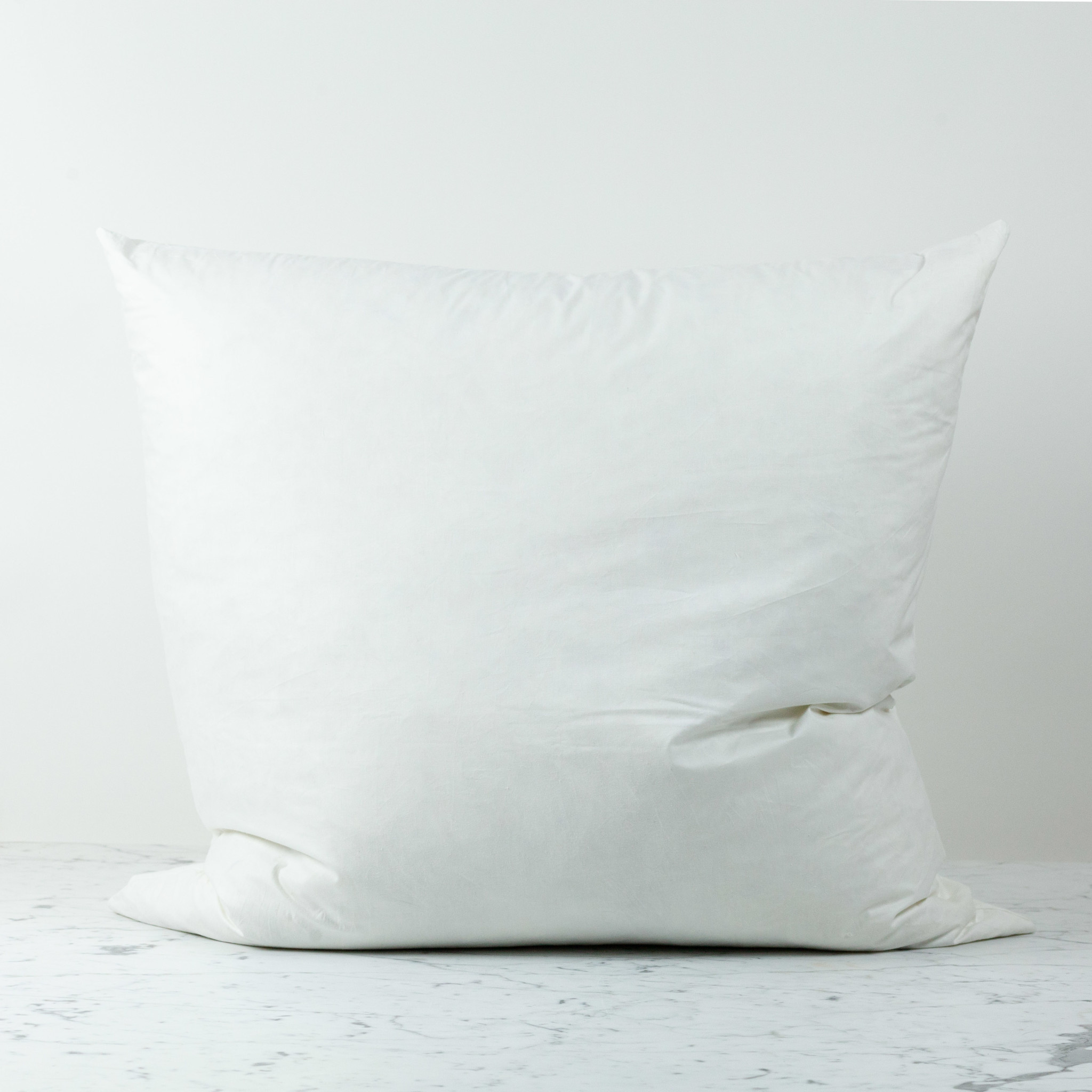 Down + Feather Pillow Insert ONLY - 27""