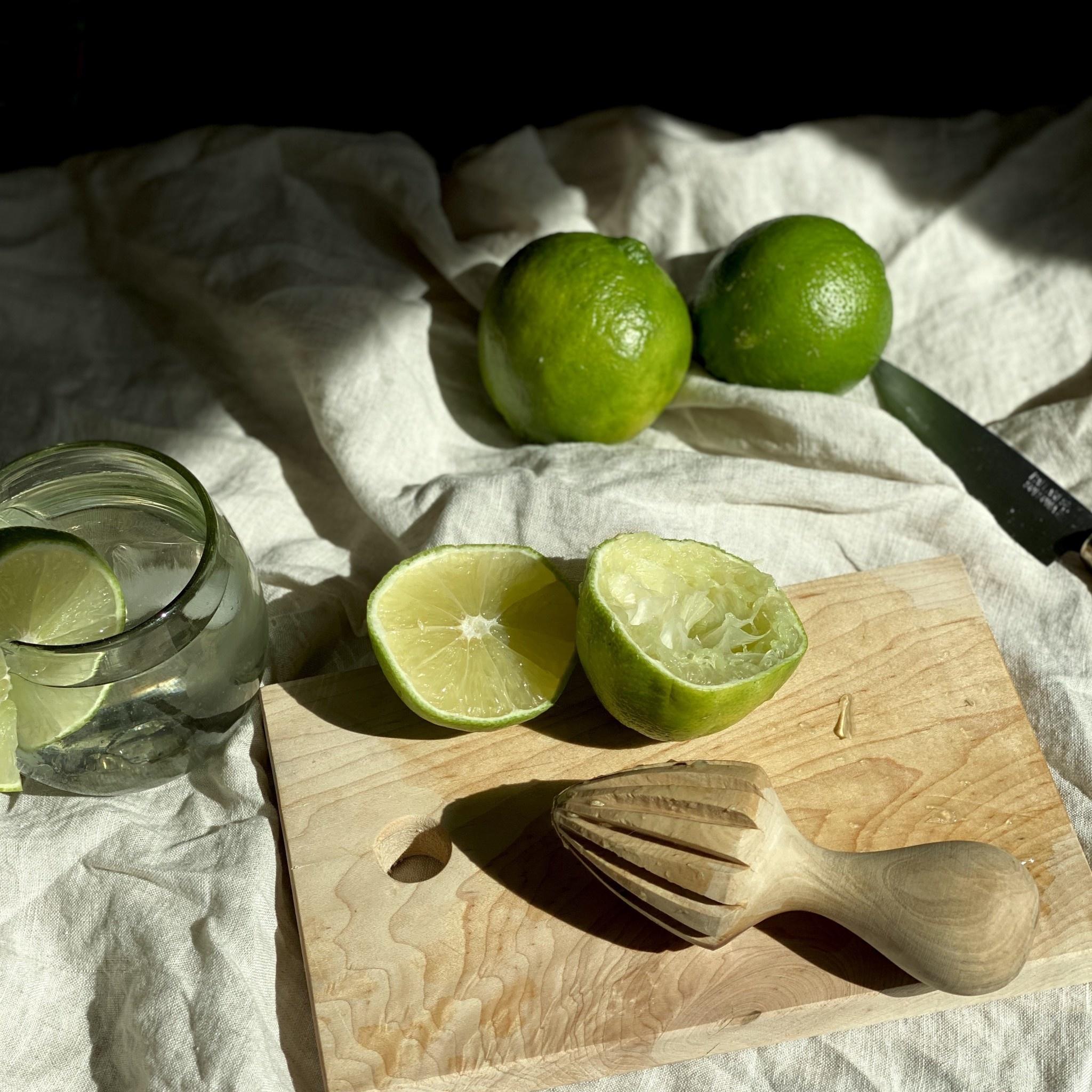 Olive Wood Citrus Press Reamer