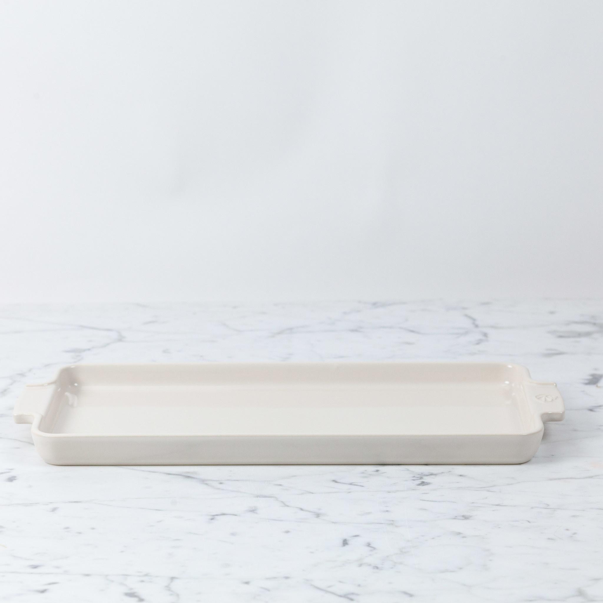 Peugeot Pepper Mills Peugeot Appolia Appetizer Baking Platter - Ecru
